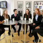 Coffee time in the sixth form common room