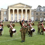 On parade at Mill Hill Foundation day