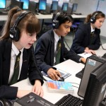 Language labs at St Clement Dane's School
