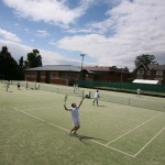 Tennis facilities at Kings College School