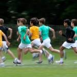 School sports day 1500m