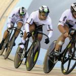 German team sprinters
